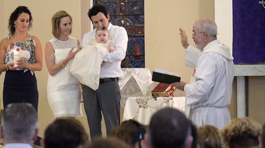 What happens during a Baptism - We Go Forth